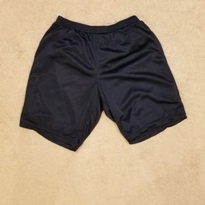 Boys black champion shorts